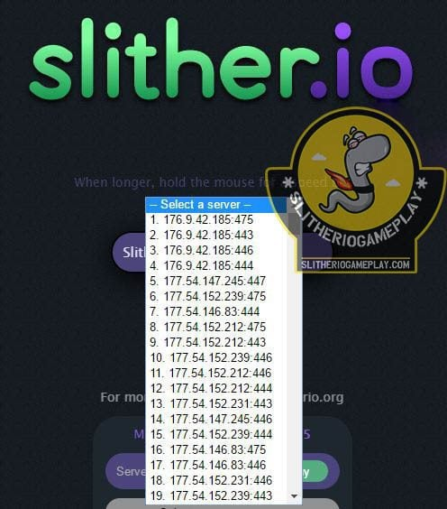 SLITio v1.15 Slither.io Mod