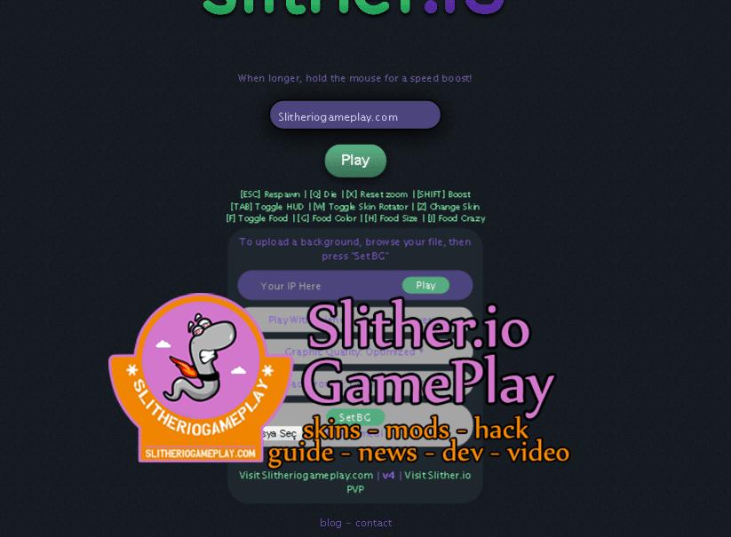 Slither.io Mod SGP v4