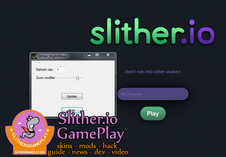 Slither.io Zoom Hack