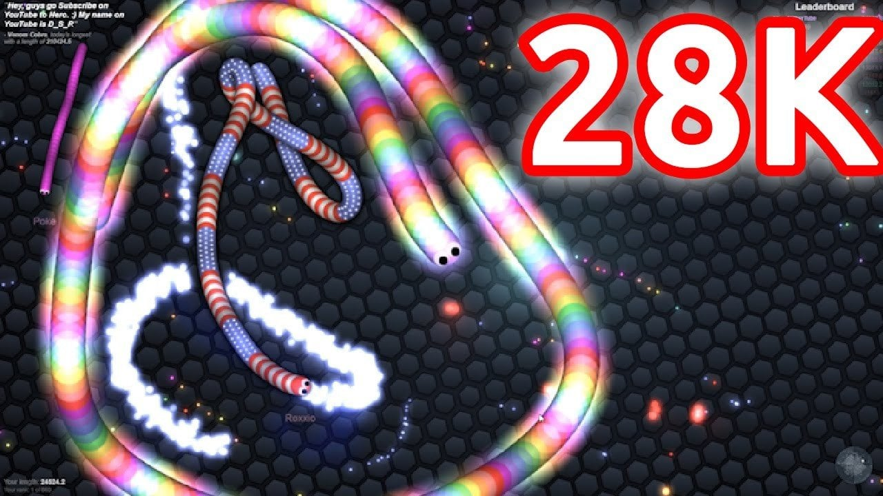 Slither io mods highscore video slither io game skins mods and