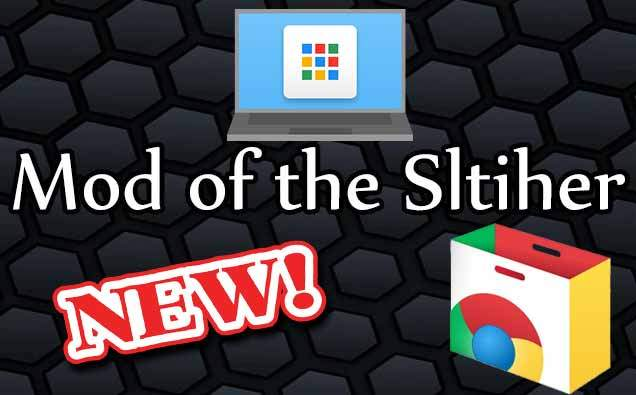 slither.io mod google chrome extension