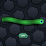 slither.io new skin green