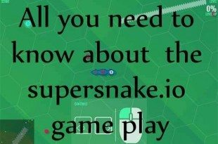 supersnake.io game play