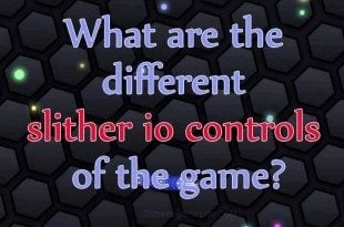 slither io controls game image