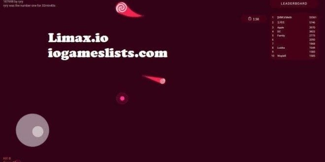 Limax.io games is a mass multiplayer online .io game
