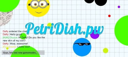 Petri Dish play game agario a new game in the agario category