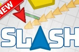 Sl4sh.io is a mixture of slither.io and diep.io