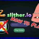 Controls of the slither io game play