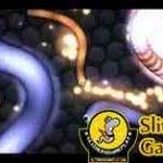 Playing slitherio game