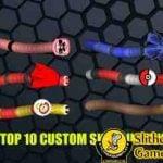 Slitherio custom skins