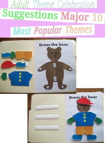 Adult Theme Celebration Suggestions - Major 10 Most Popular Themes