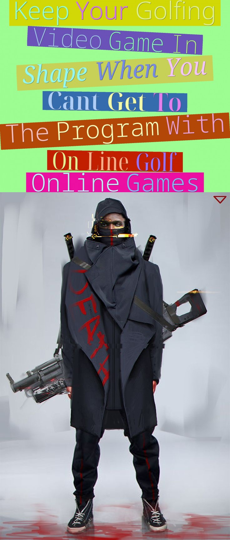 Keep Your Golfing Video Game In Shape When You Can't Get To The Program - With On Line Golf Online Games
