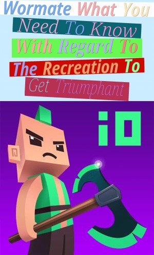 Wormate - What You Need To Know With Regard To The Recreation To Get Triumphant