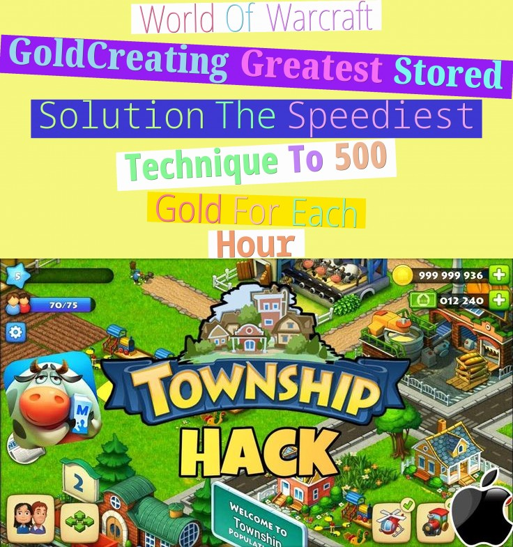 World Of Warcraft Gold-Creating Greatest Stored Solution - The Speediest Technique To 500 Gold For Each Hour