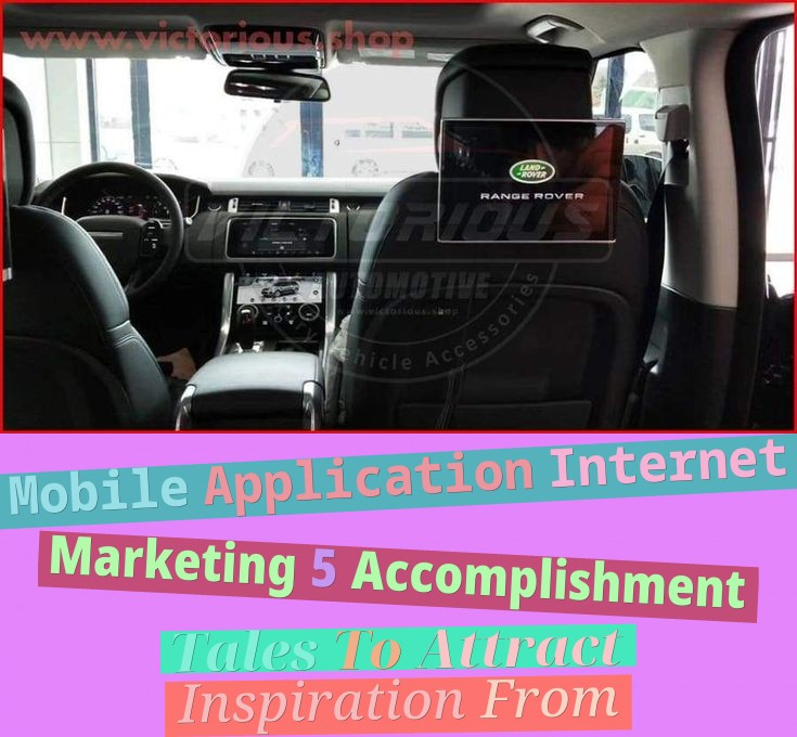Mobile Application Internet Marketing: 5 Accomplishment Tales To Attract Inspiration From