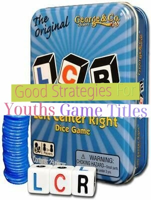 Good Strategies For Youths Game Titles