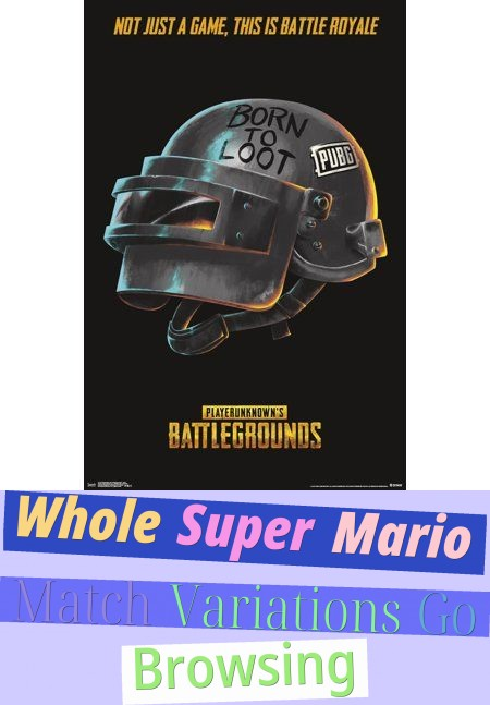 Whole Super Mario Match Variations Go Browsing