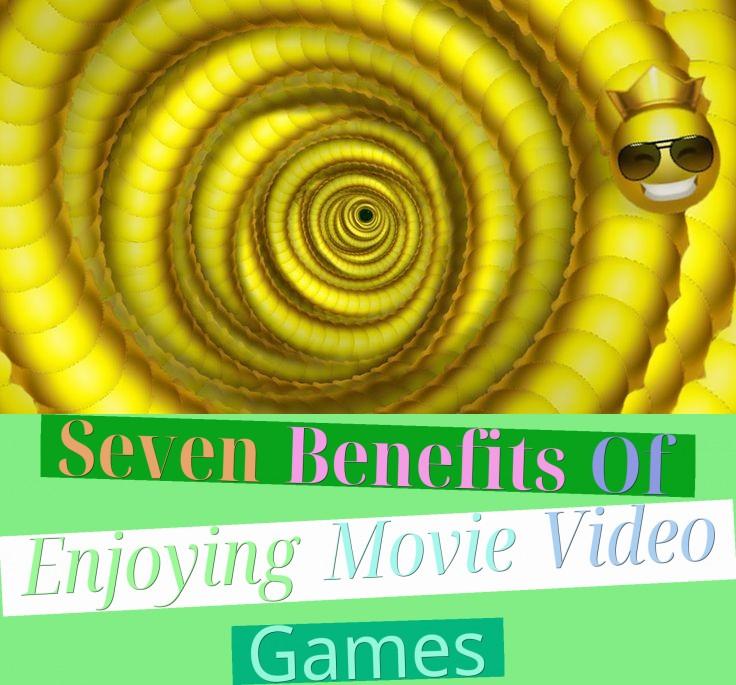 Seven Benefits Of Enjoying Movie Video Games