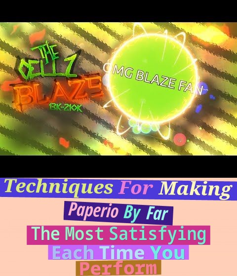 techniques for making paperio by far the most satisfying each time you perform