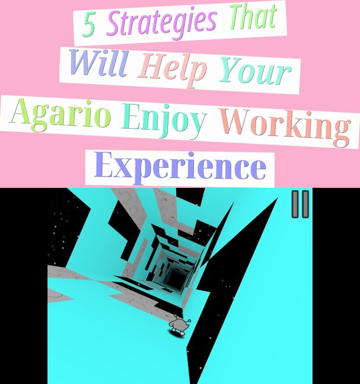 5 Strategies That Will Help Your Agario Enjoy Working Experience