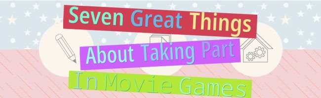 Seven Great Things About Taking Part In Movie Games