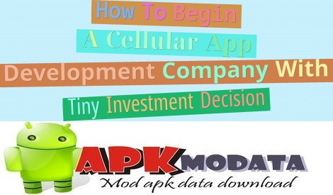 How To Begin A Cellular App Development Company With Tiny Investment Decision