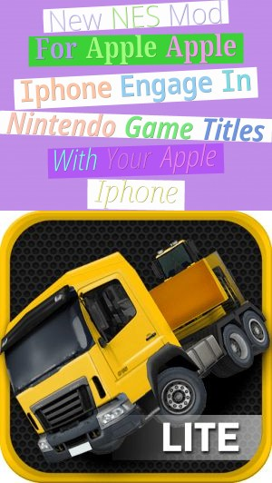New NES Mod For Apple Apple Iphone - Engage In Nintendo Game Titles With Your Apple Iphone