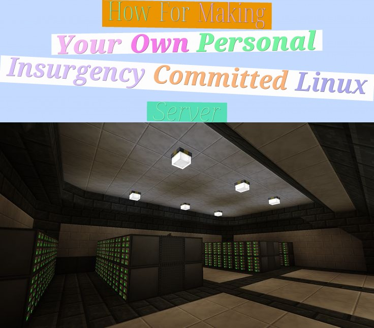 How For Making Your Own Personal Insurgency Committed Linux Server