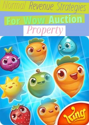 Normal Revenue Strategies For Wow Auction Property