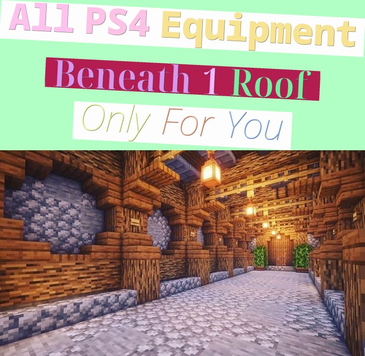 All PS4 Equipment Beneath 1 Roof Only For You