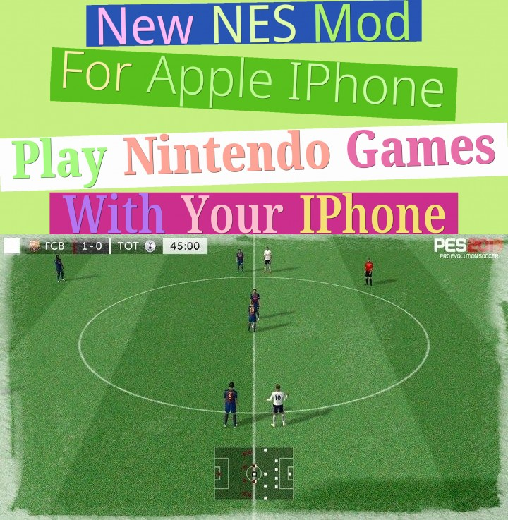 new nes mod for apple iphone - play nintendo games with your iphone