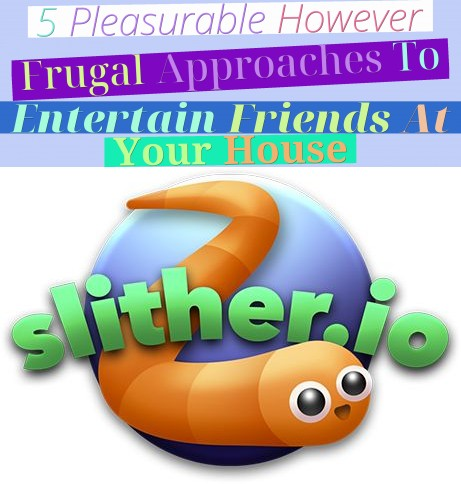 5 Pleasurable, However Frugal, Approaches To Entertain Friends At Your House