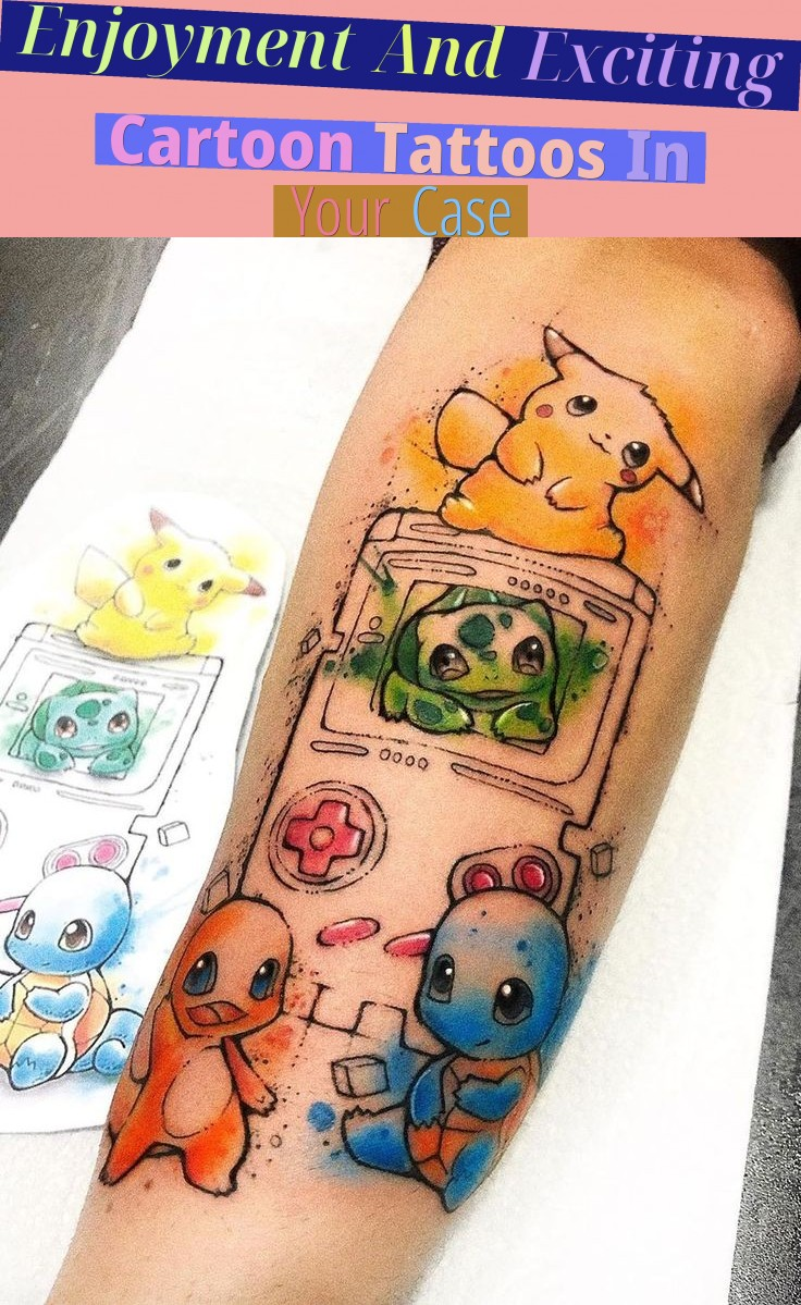 Enjoyment And Exciting Cartoon Tattoos In Your Case!