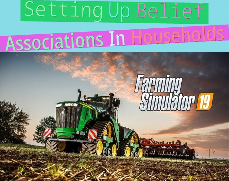 setting up belief associations in households