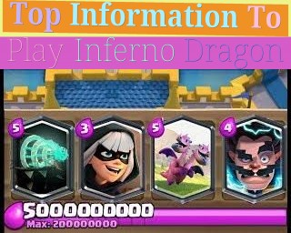 Top Information To Play Inferno Dragon