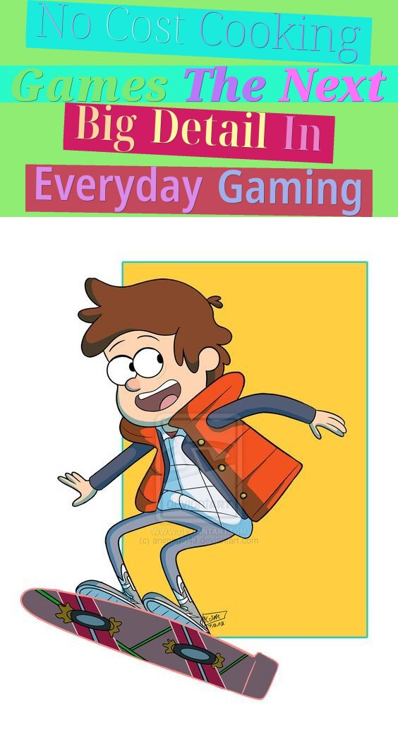No Cost Cooking Games - The Next Big Detail In Everyday Gaming