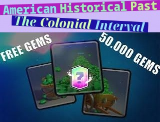 American Historical Past - The Colonial Interval