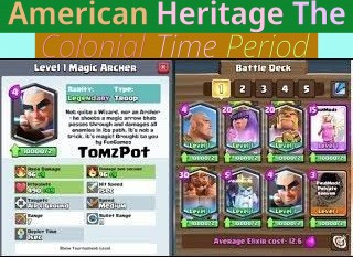 American Heritage - The Colonial Time Period