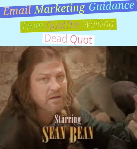 Email Marketing Guidance From  Quot;The Walking Dead Quot;
