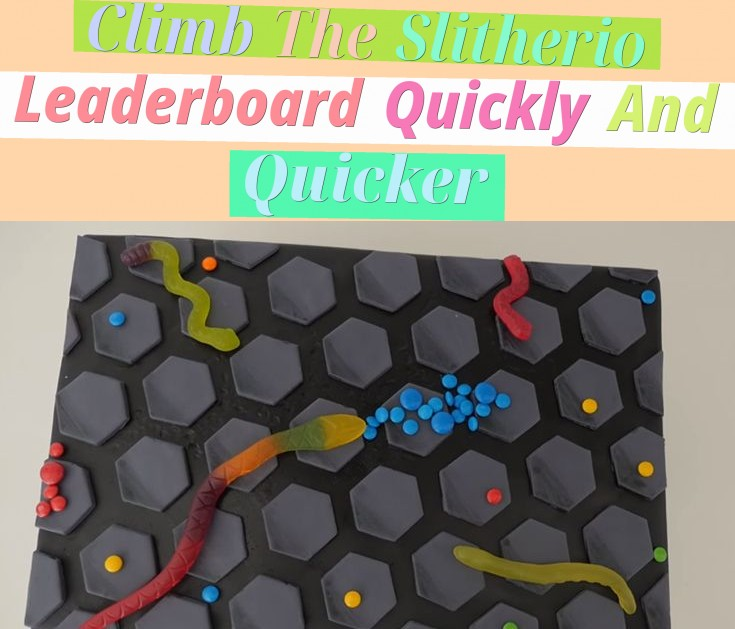 Climb The Slitherio Leaderboard Quickly And Quicker