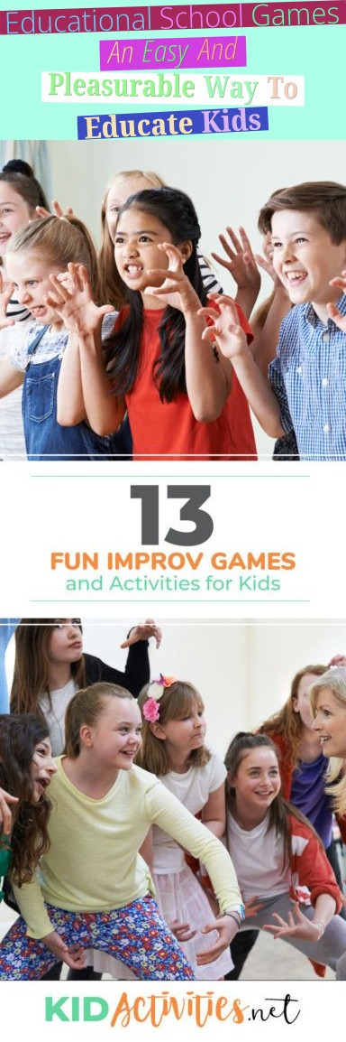 Educational School Games: An Easy And Pleasurable Way To Educate Kids!