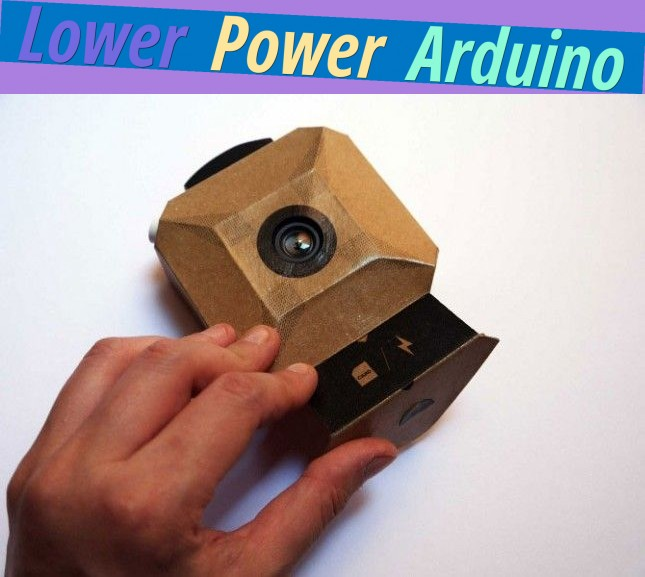 Lower Power Arduino