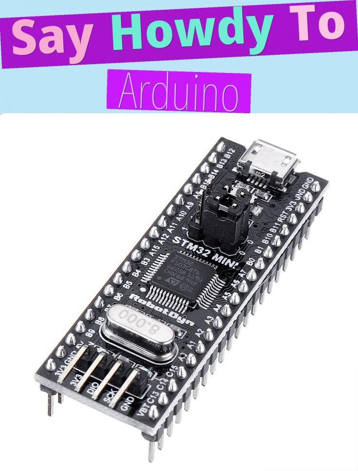 Say Howdy To Arduino